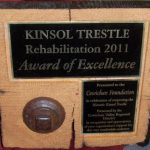 Award of excellence Kinsol Trestle
